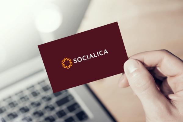 Sample branding #3 for Socialica