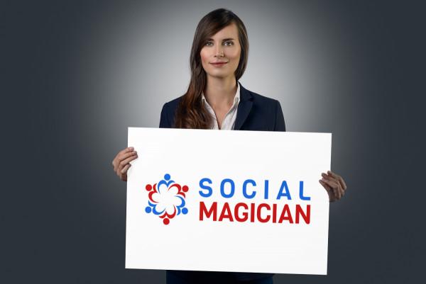 Sample branding #3 for Socialmagician
