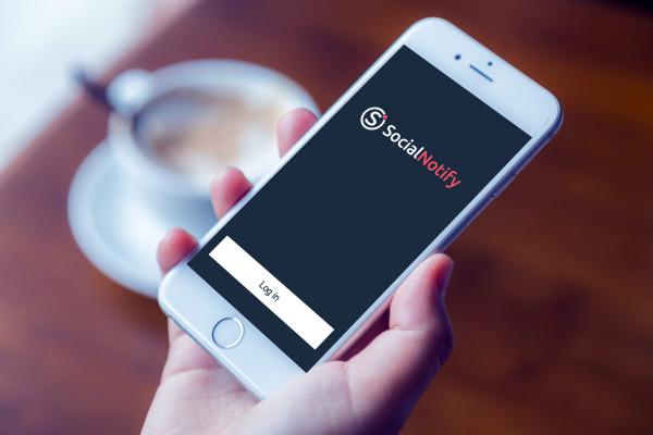 Sample branding #2 for Socialnotify