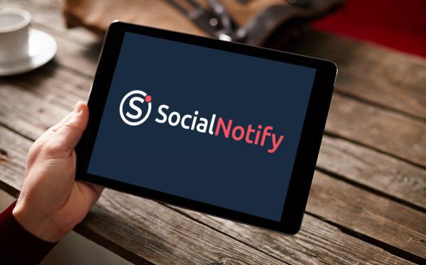 Sample branding #1 for Socialnotify