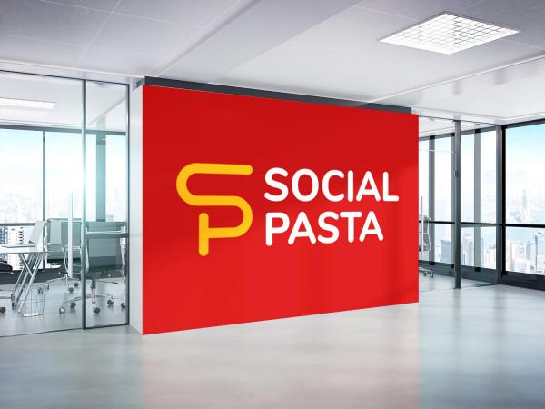 Sample branding #1 for Socialpasta