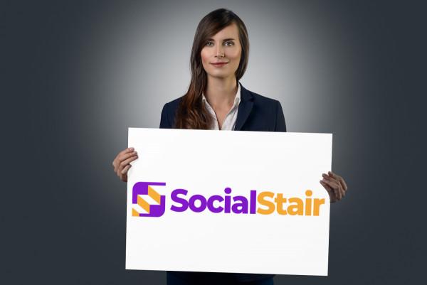 Sample branding #3 for Socialstair