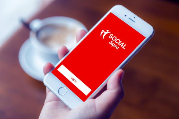 Sample branding #1 for Socialsupra