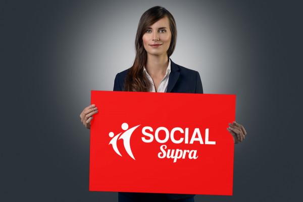 Sample branding #3 for Socialsupra