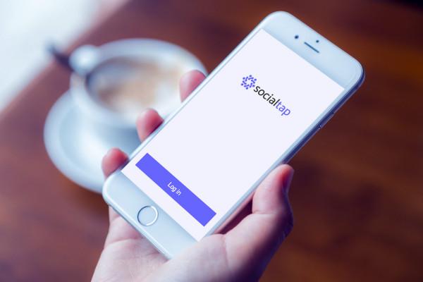Sample branding #2 for Socialtap