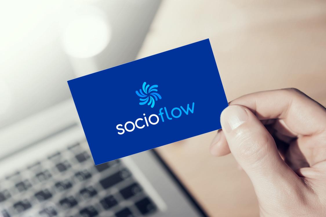 Sample branding #3 for Socioflow