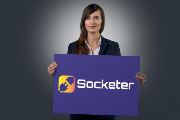 Sample branding #2 for Socketer
