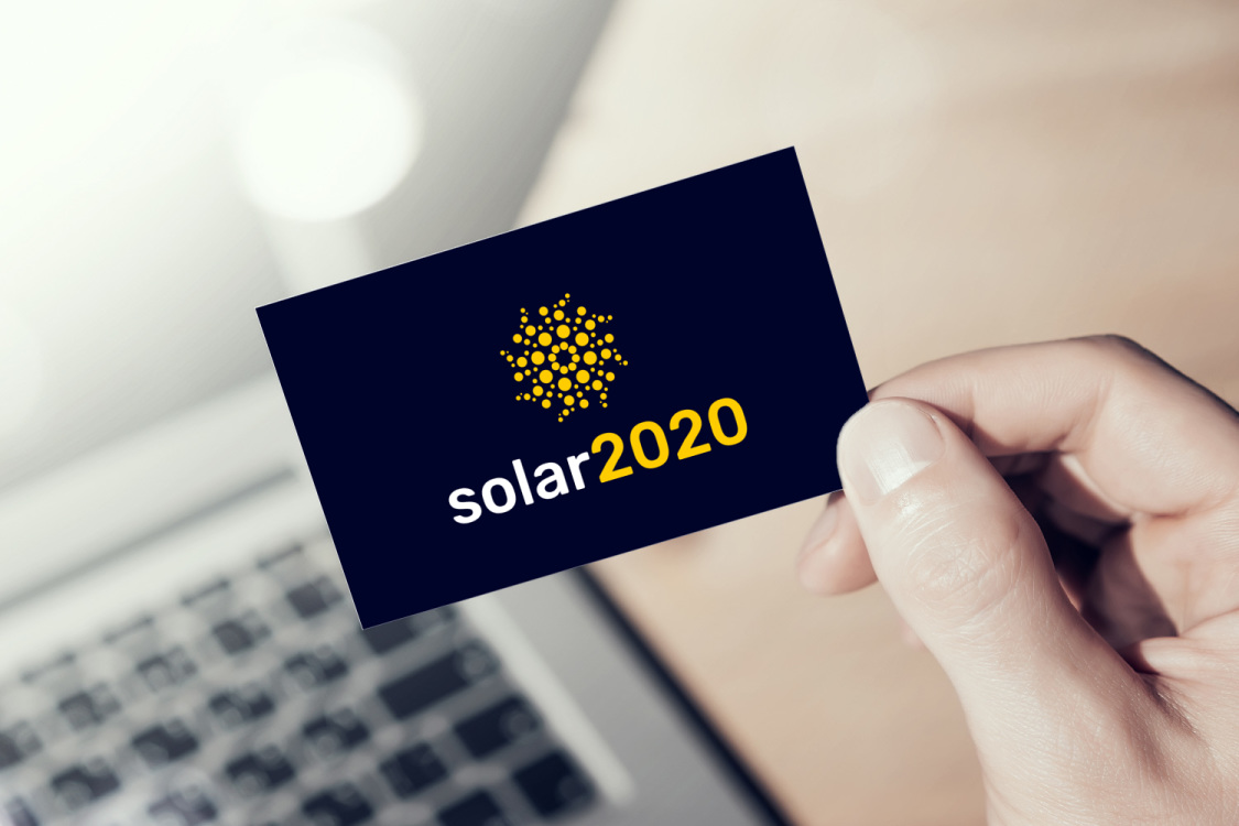 Sample branding #2 for Solar2020