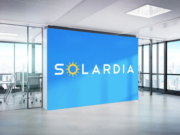 Sample branding #1 for Solardia