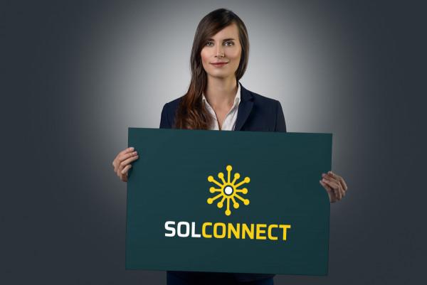 Sample branding #3 for Solconnect