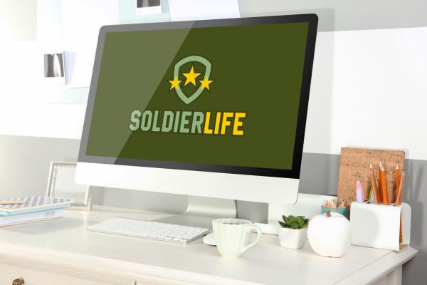 Sample branding #1 for Soldierlife