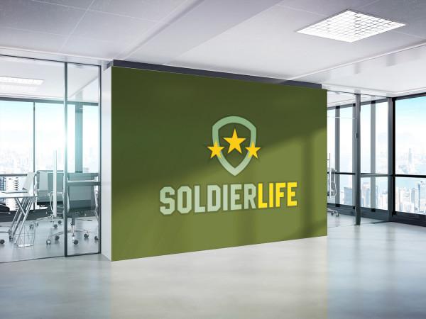 Sample branding #3 for Soldierlife