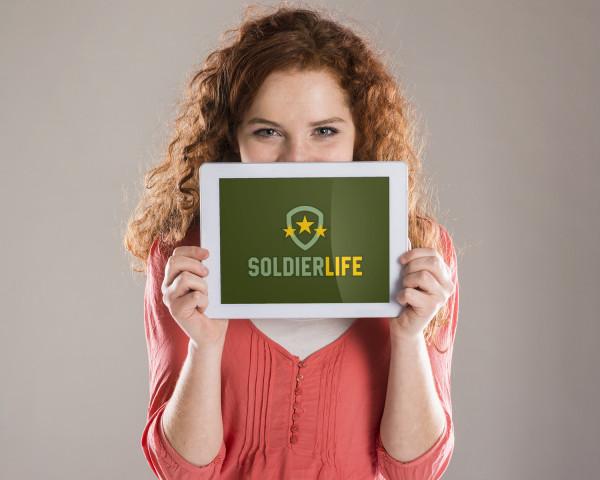 Sample branding #2 for Soldierlife