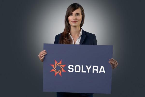 Sample branding #2 for Solyra