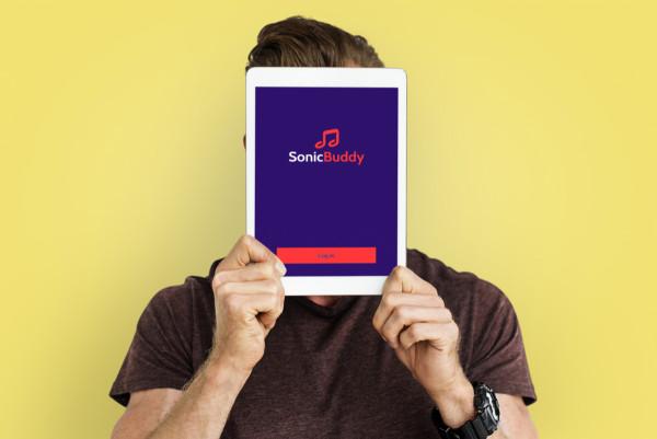 Sample branding #2 for Sonicbuddy