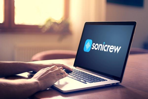 Sample branding #2 for Sonicrew