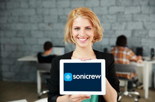 Sample branding #1 for Sonicrew