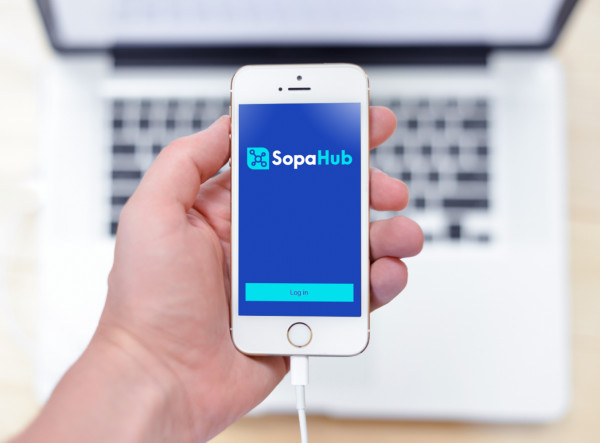 Sample branding #2 for Sopahub