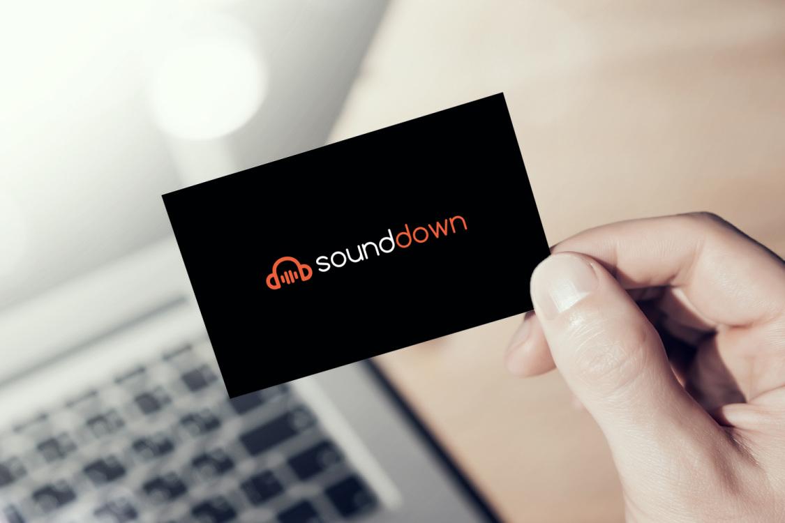 Sample branding #3 for Sounddown