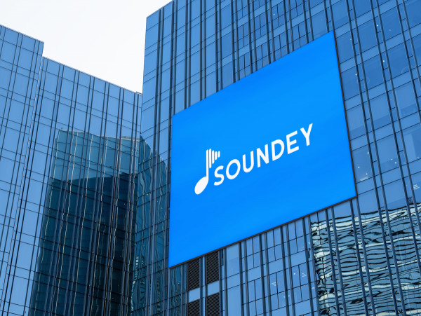 Sample branding #3 for Soundey