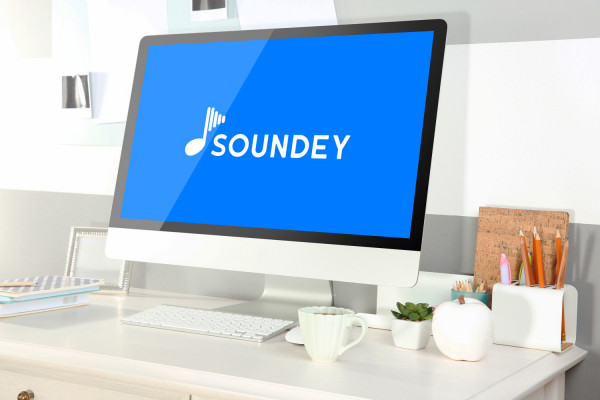 Sample branding #2 for Soundey