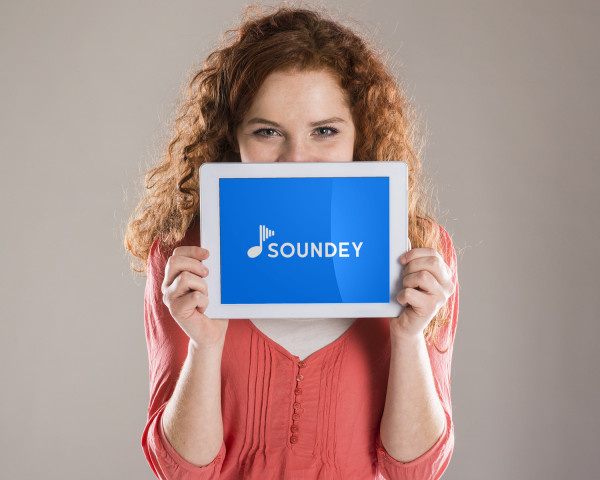 Sample branding #1 for Soundey