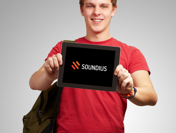 Sample branding #1 for Soundius
