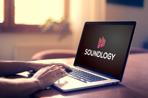 Sample branding #1 for Soundlogy