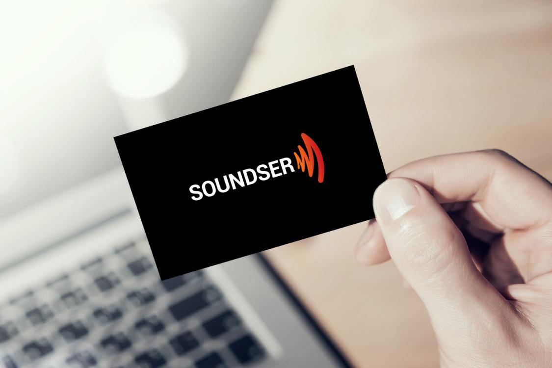 Sample branding #3 for Soundser