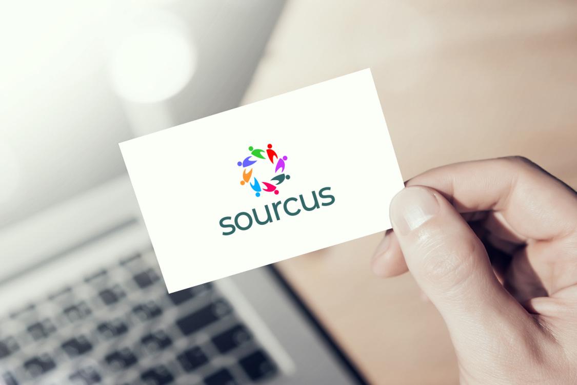 Sample branding #1 for Sourcus