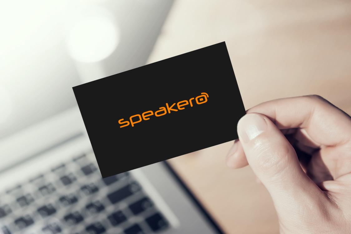 Sample branding #1 for Speakero