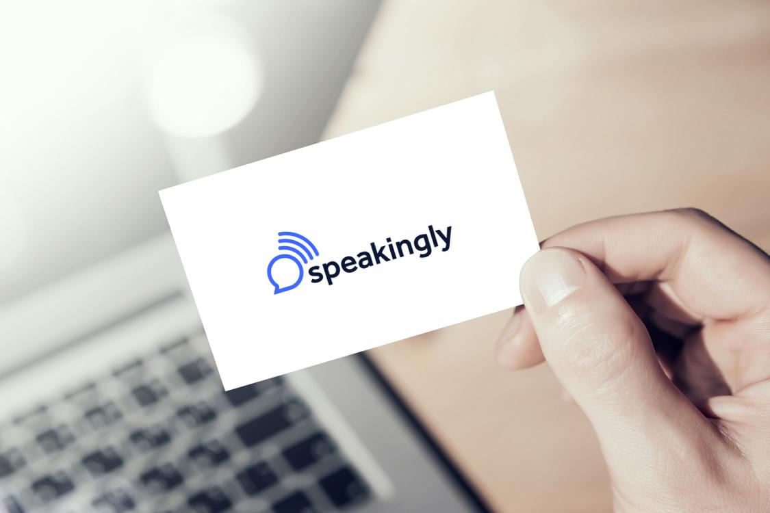 Sample branding #2 for Speakingly