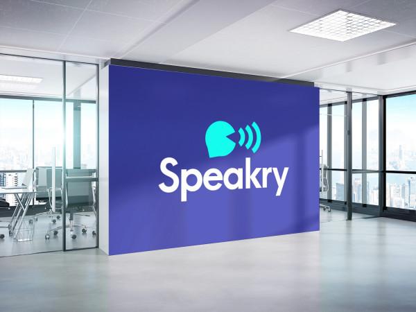 Sample branding #2 for Speakry