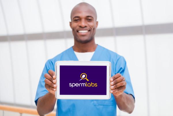 Sample branding #3 for Spermlabs