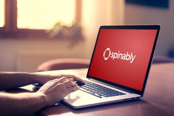 Sample branding #2 for Spinably