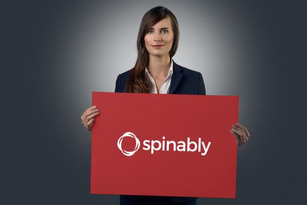 Sample branding #1 for Spinably