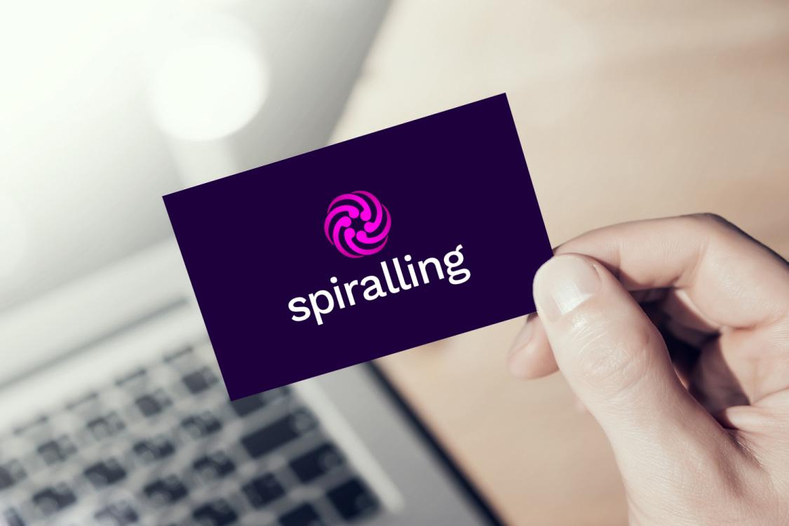 Sample branding #2 for Spiralling