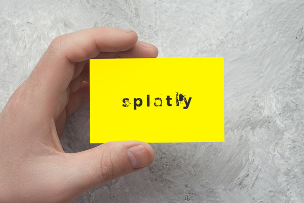 Sample branding #3 for Splatly