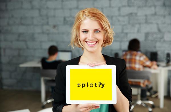 Sample branding #1 for Splatly