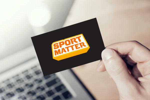 Sample branding #2 for Sportmatter