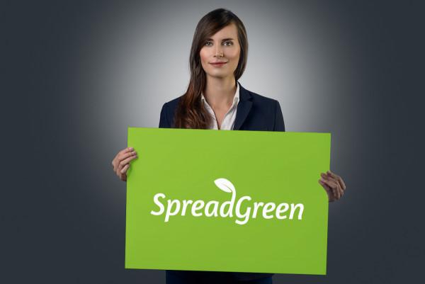 Sample branding #1 for Spreadgreen