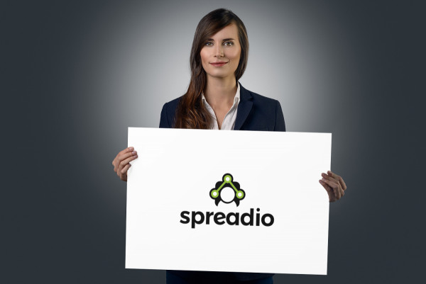 Sample branding #2 for Spreadio