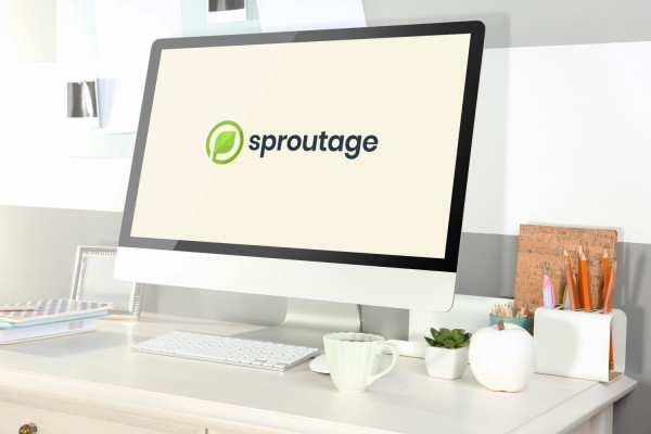 Sample branding #3 for Sproutage