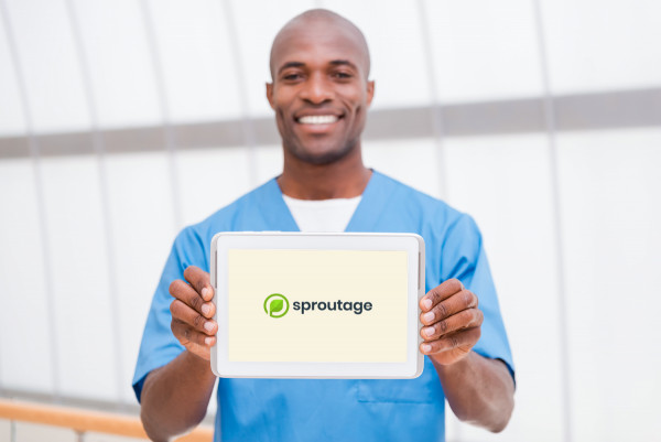 Sample branding #2 for Sproutage