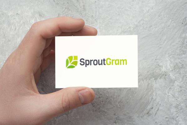 Sample branding #3 for Sproutgram