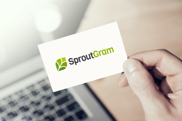 Sample branding #1 for Sproutgram