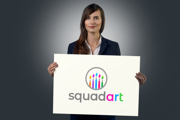 Sample branding #3 for Squadart