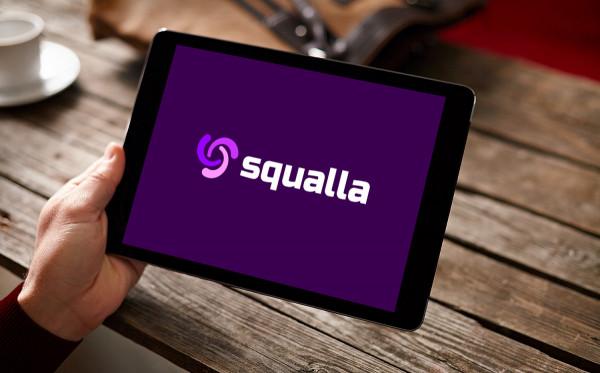 Sample branding #2 for Squalla