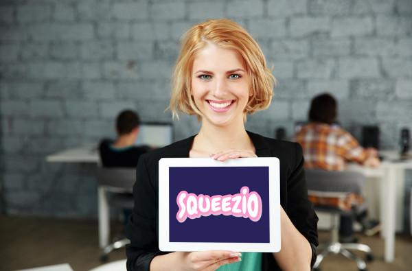 Sample branding #1 for Squeezio