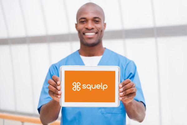 Sample branding #2 for Squelp